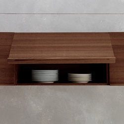 Only One | HANGING WALL UNIT WITH FLAP DOORS | Kitchen cabinets | Riva 1920
