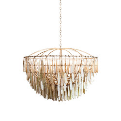 Gilded Cage Large Round Chandelier | Ceiling suspended chandeliers | Fisher Weisman