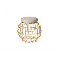 Gilded Cage Dining Seat | Stools | Fisher Weisman