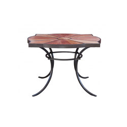 Veracruz Square Dining Table | Tables à manger de jardin | Fisher Weisman