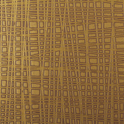 Marisol | Metal Brown | Wall coverings / wallpapers | Luxe Surfaces