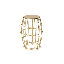 Gilded Cage Medium Occasional Table | Side tables | Fisher Weisman