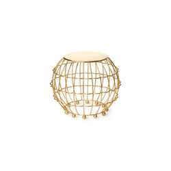 Gilded Cage Large Occasional Table | Side tables | Fisher Weisman
