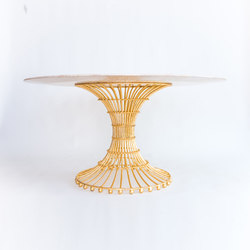 Gilded Cage Dining Table | Dining tables | Fisher Weisman