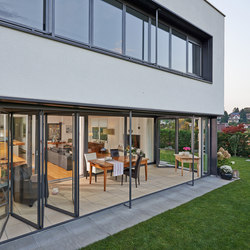 Bi-folding doors SL 35 | Window systems | Solarlux