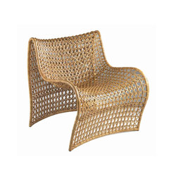 Lola Woven Leather Chair | Gartensessel | Pfeifer Studio