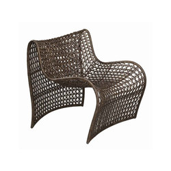 Lola Woven Leather Chair | Poltrone da giardino | Pfeifer Studio