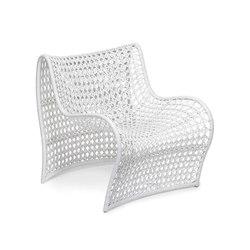 Lola Woven Leather Chair | Poltrone da giardino | Pfeifer Studio