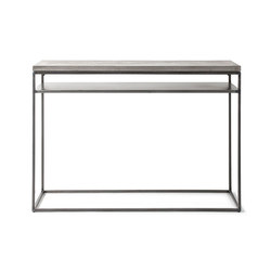 Perspective Concrete and Steel Console | Console tables | Pfeifer Studio