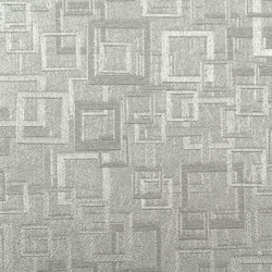 Plaza | Bruton Silver | Wall coverings / wallpapers | Luxe Surfaces