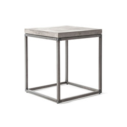 Perspective Concrete and Steel Side Table | Side tables | Pfeifer Studio