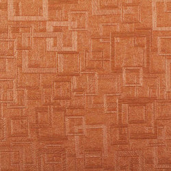 Plaza | China Orange | Wall coverings / wallpapers | Luxe Surfaces