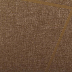 Rhombus | Coffee | Wall coverings / wallpapers | Luxe Surfaces