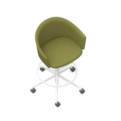 Zones Club Chairs | Sedie da bancone | Teknion