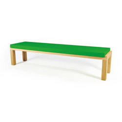Camping Bench 220 with cushion | Bancos de jardín | Quinze & Milan