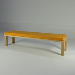 Camping Bench 250 with cushion | Gartenbänke | Quinze & Milan