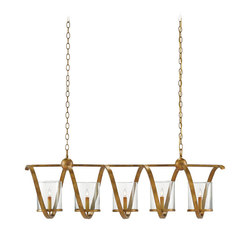 Maximus Rectangular Chandelier | General lighting | Currey & Company