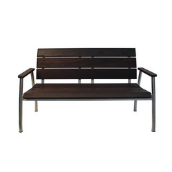 ROCK CREEK BENCH | Garden benches | Museum & Library Furniture