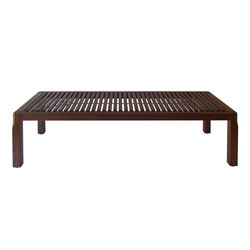 GALLERY BENCH, SLAT | Waiting area benches | Museum & Library Furniture