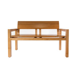 MARK TWAIN BENCH | Waiting area benches | Museum & Library Furniture