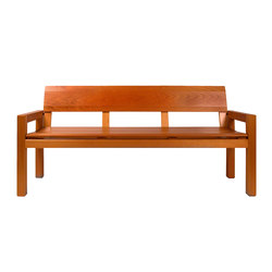 MONTICELLO BENCH | Bancos de espera | Museum & Library Furniture