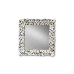 Oyster Shell Mirror   Espejos   Currey & Company