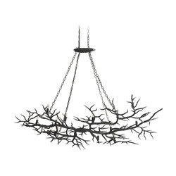 Rainforest Chandelier | General lighting | Currey & Company