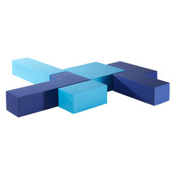Infinity Straight Cube Setting | Modular seating elements | Quinze & Milan