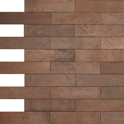 Brik | Cotto Dark | Ceramic tiles | Keope