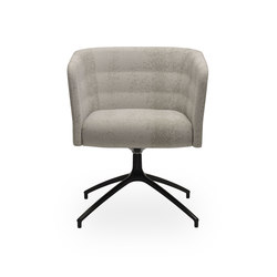 Cell 75 swivel upholstered easy chair with armrests | Armchairs | sitland