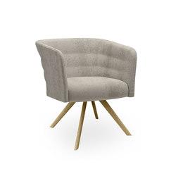 Cell 75 sillón pequeño reuniones tapizado con brazos | Sillas | sitland