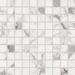 Elements Lux | Calacatta Mosaic | Mosaïques | Keope