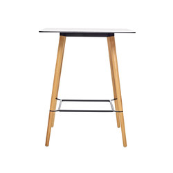 Pilot Bar Table Square | Cafeteriatische | Quinze & Milan