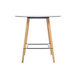 Pilot Bar Table Round | Tables de cafétéria | Quinze & Milan
