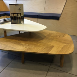 Pilot Side Table Low | Mesas de centro | Quinze & Milan
