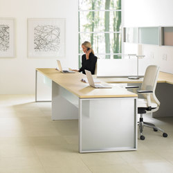 Expansion Desking | Systèmes de tables de bureau | Teknion