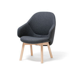 Alba Lounge Armchair | Sillones lounge | TON