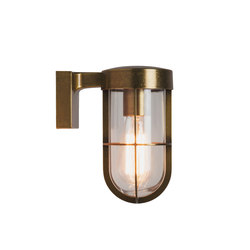 Cabin Wall Light Antique Brass | Outdoor wall lights | Astro Lighting