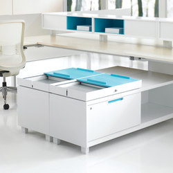 Interpret Storage | Pedestals | Teknion