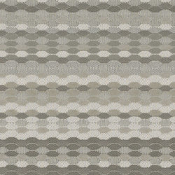 Beaded Stripe | Crystal | Materiali sintetici riciclati | Luum Fabrics
