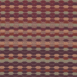 Beaded Stripe | Cinnabar | Recycelter Kunststoff | Luum Fabrics