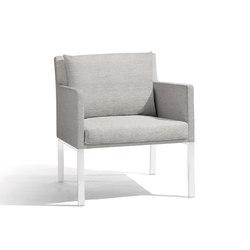 Liner 1 seat | Garden armchairs | Manutti