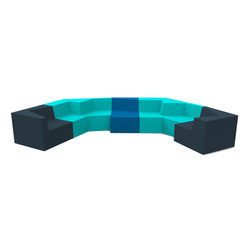 Skew | Modular seating elements | Quinze & Milan