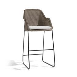 Mood Barstool 80 | Bar stools | Manutti
