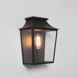 Richmond 285 Black  Outdoor Wall Lights Astro Lighting