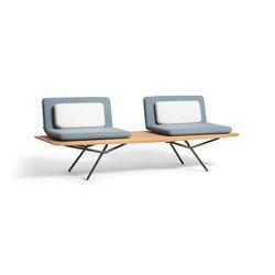 San Double 1 Seater | Gartenbänke | Manutti