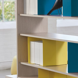 upStage Storage | Bookends | Teknion