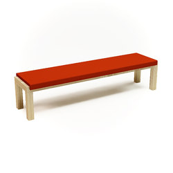 Camping Bench 250 with cushion | Garden benches | Quinze & Milan