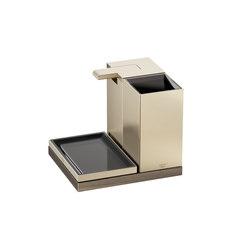 ACCESSORIES | 3 piece accessories set | Greige | Seifenspender / Lotionspender | Armani Roca