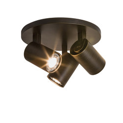 Ascoli Triple Round Bronze Effect | Spots de plafond | Astro Lighting